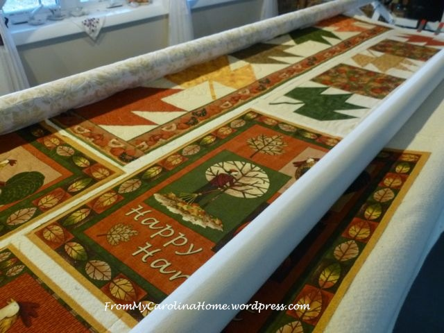 Autumn mulit quilting 2