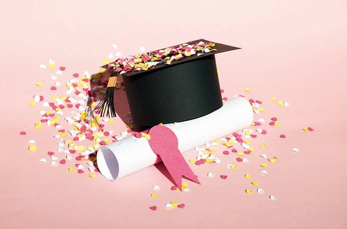 Paper Sculpture Graduation Cap