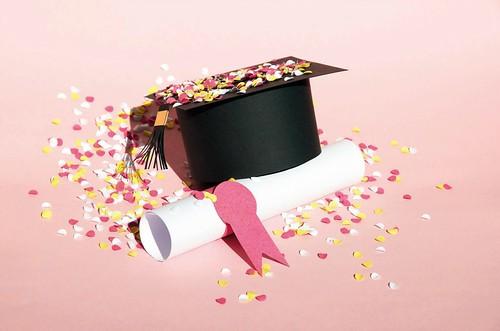Paper Sculpture Graduation Cap