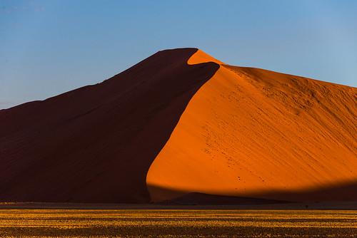landscape desert sanddune namibia