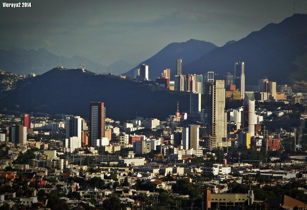 City Map Of Monterrey Mexico
