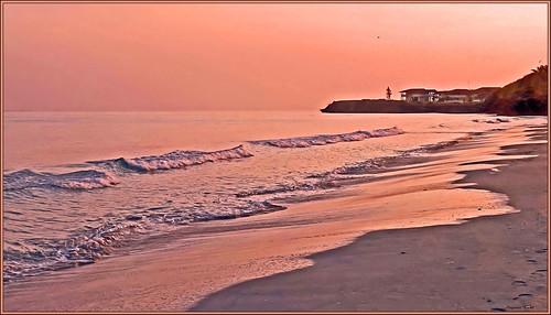 plagebeachnature oceancaraïbesmer paradiseparadis sunriserosepink cubacayosantamaria