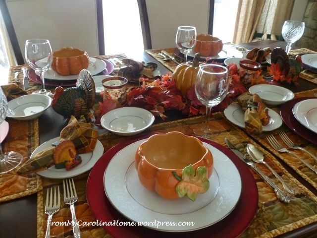 Thanksgiving Tablescape 9