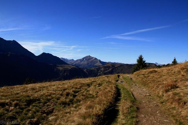 Vue depuis les chalets de chailloux paysage en vall e de for Les chalets de philippe chamonix