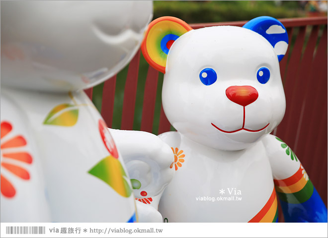 【台中泰迪熊2014】台中泰迪熊嘉年華(秋紅谷展區)~大熊牽小熊,萌翻大台中!24