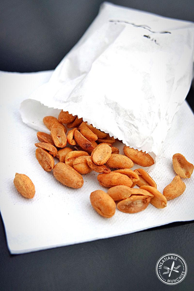 Salt and Vinegar Peanuts from Long Grain