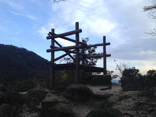 鎌ヶ岳 馬の背尾根登山口 三岳寺  観音山遊歩道 展望台
