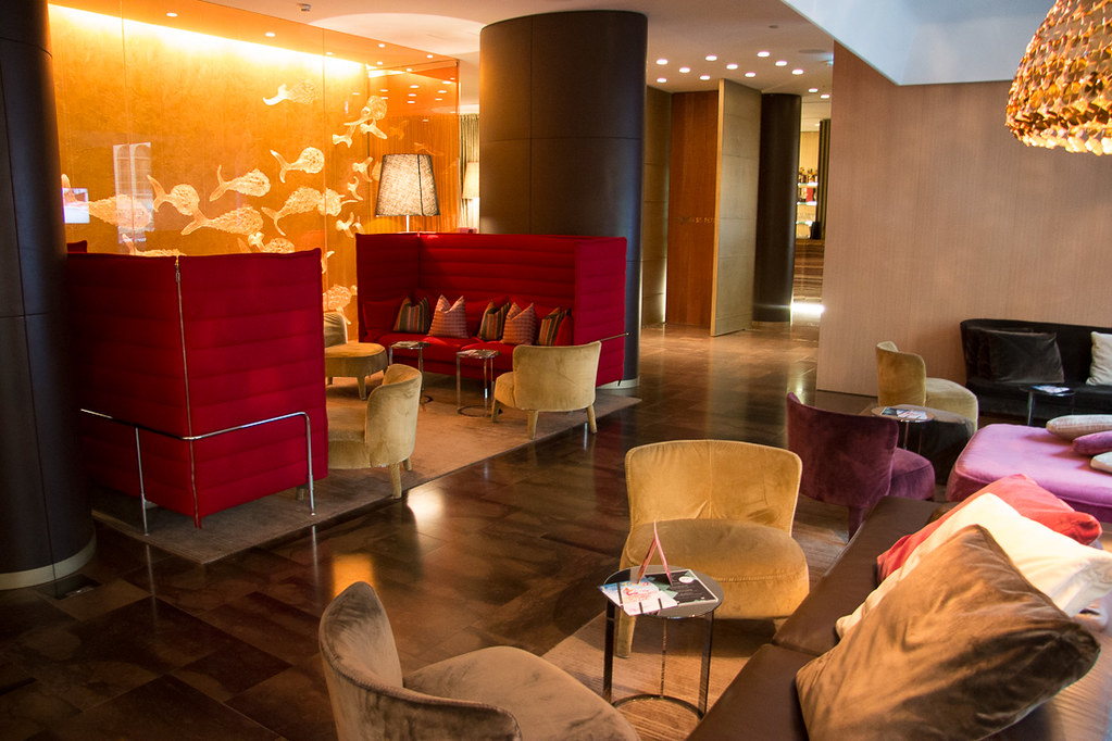 Lobby at W St. Petersburg | Hotel Review