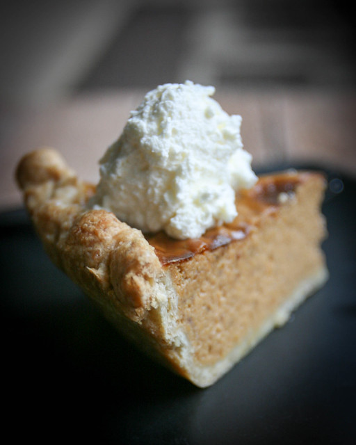 Pumpkin Pie with Oatmeal Crust