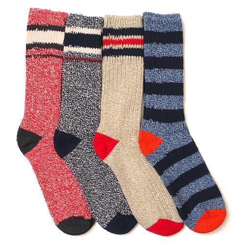 J.Crew Stripe Camp Socks
