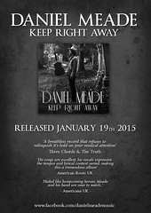 Daniel Meade - album 'Keep Right Away'