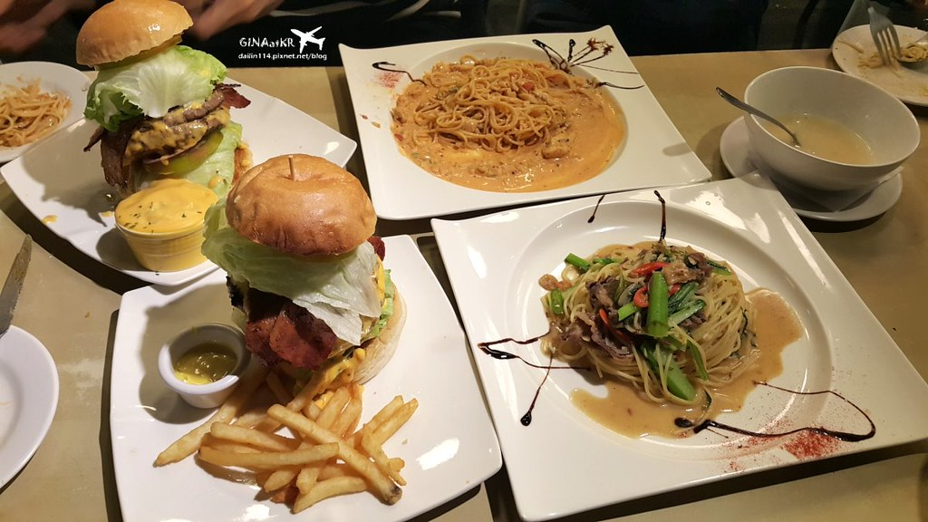 【新北板橋區美食】Dishes好盤美味廚房 美式餐廳、平價美食、菜單 致理學院後門 @GINA環球旅行生活 不會韓文也可以去韓國 🇹🇼
