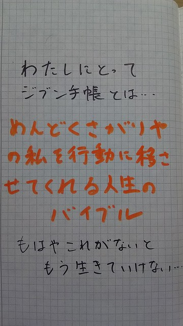 ayuriさんにとってジブン手帳とは