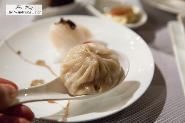 Pork soup dumpling