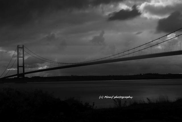 The Humber bridge.