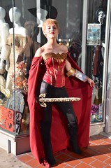Wonder Woman Guards Her Store
