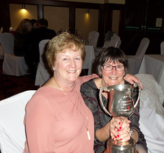 Eileen with Murray Huban cup