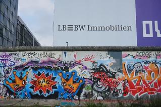 Image of Berlin Wall. sonya7mii hdr dynamicphotohdr graffiti berlin wall berlinwall