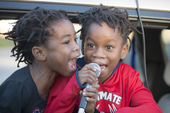 Kids lead chants at protest march one year after police killed Jamar Clark