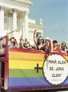 The Lutheran Church of Helsinki at Helsinki Pride