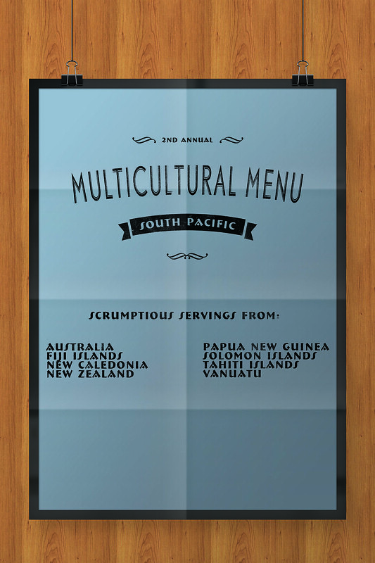 Multicultural Menu South Pacific