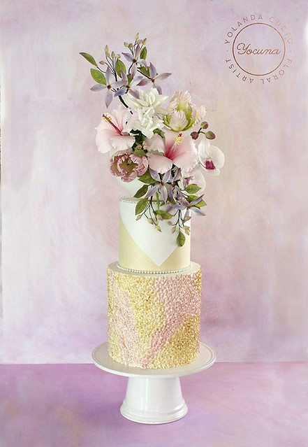Cake by Yocuna Floral Artist