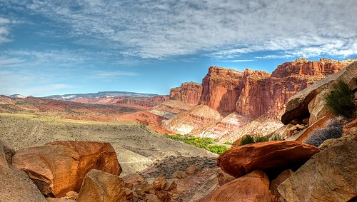 Capitol Reef National Park. Geology.