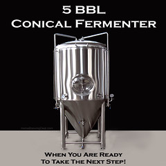 5 Barrel Stainless Steel Conical Fermenter
