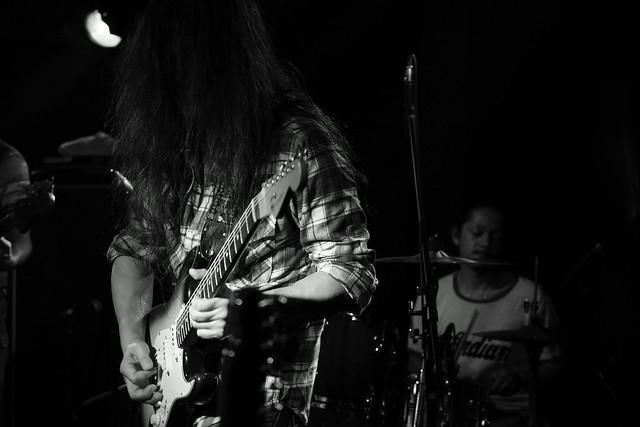 O.E. Gallagher live at 獅子王, Tokyo, 13 Oct 2014. 153