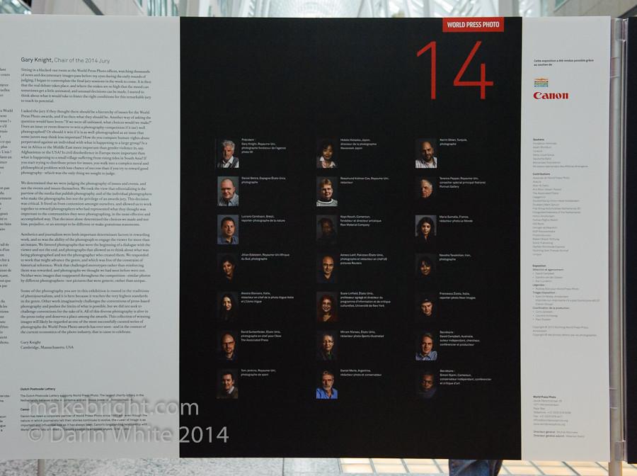 World Press Photography Show 2014 - Toronto 024