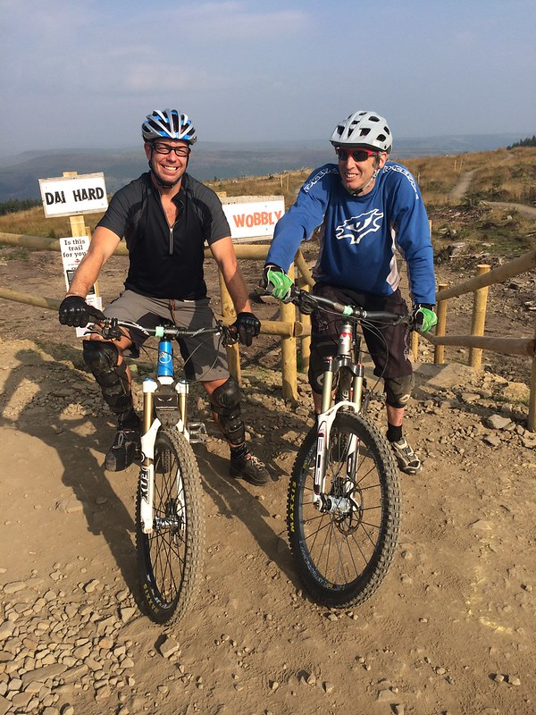 Bike Park Wales with Cez