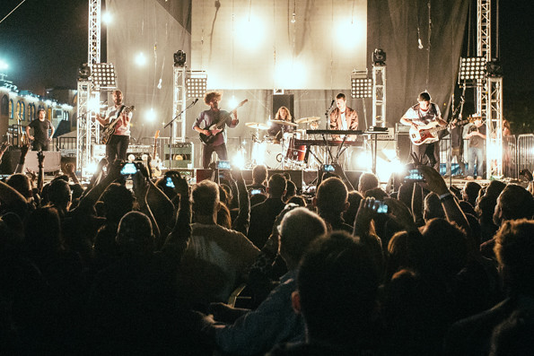 Local Natives @ Way Over Yonder 2014, Friday