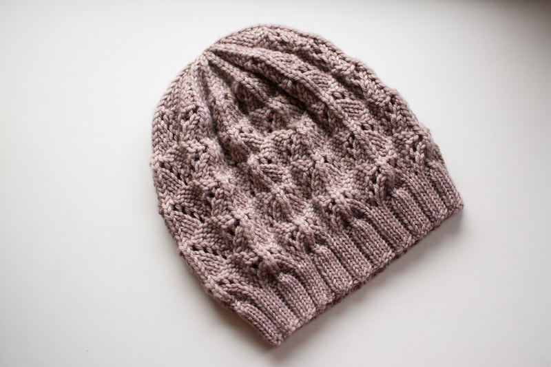 Knitted hat in malabrigo  rios