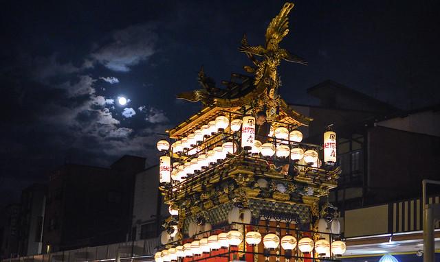 高山祭夜祭