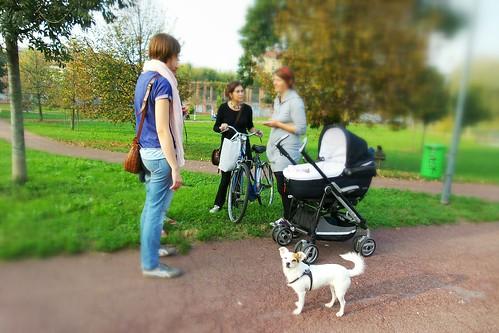 Tutti insieme al #parco con Vanda