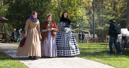 Clvil War Re-enactment, Wolcott Mill, Ray, Michigan
