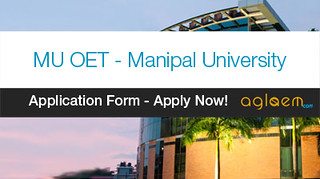 Manipal University Application Form 2017