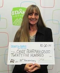 Candy Buhrman - $2,500 25th Anniversary