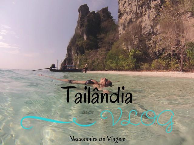 Vlog Tailândia | Necessaire de Viagem