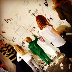 As it turns out, inherently, we're all vandals! #DrawOnAWall @YAGmcmanus Youth Action Group @mcmanusdundee