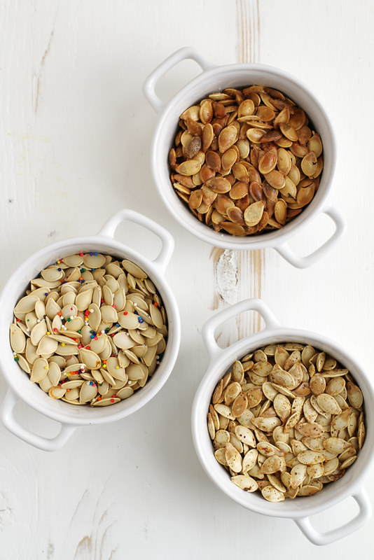 Pumpkin Seeds, Three Ways | girlversusdough.com @stephmwise