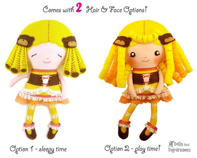 Goldilocks pdf sewing pattern