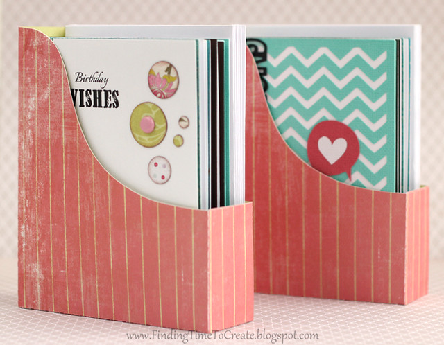 Gift card set in folio box by Kelly Wayment