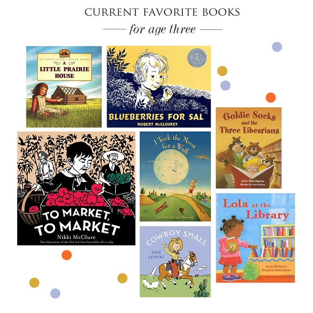 current favorite books for age 3! | yourwishcake.com