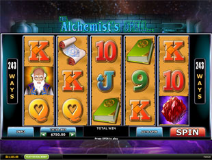 The Alchemist's Spell slot game online review