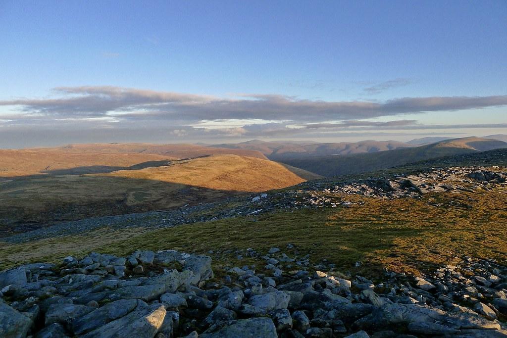 Freevater hills from Eididh nan Clach Geala