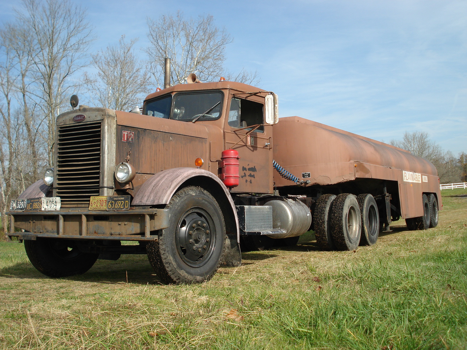 The Amazo Effect James Crosby S 1956 Peterbilt