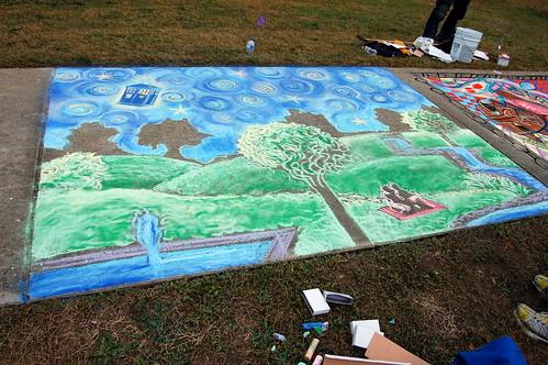 Macon-Bibb Sidewalk Chalk Fest