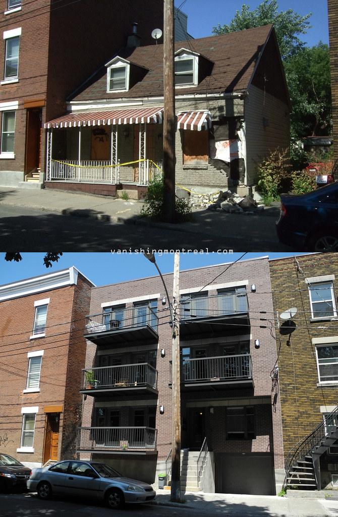 Before and After : Small House on St-Philippe (2011 - 2013)