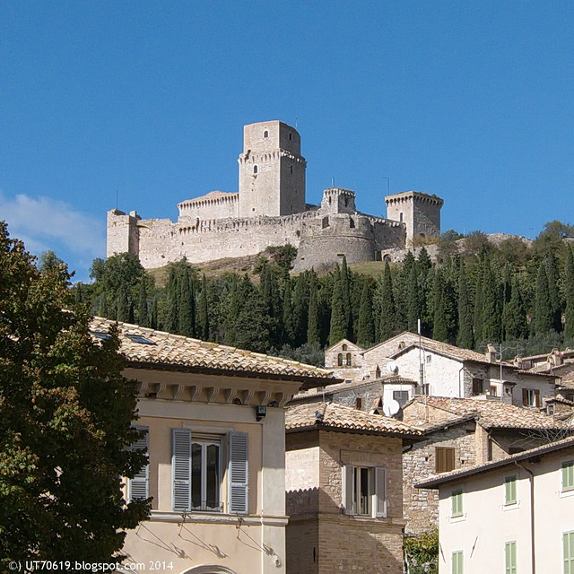 Assisi - Stauferburg